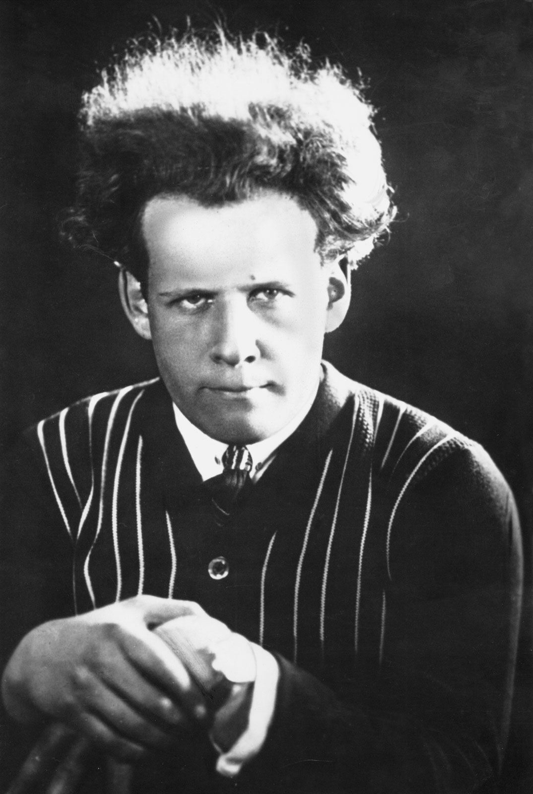 Sergej Eisenstein in den 1910er Jahren in St. Petersburg (Bild: gemeinfrei, via wikimedia commons)