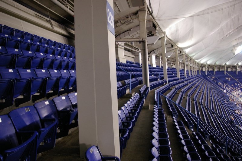 Stadionsitze (Bild: Andrew Ciscel, CC BY SA 2.0)