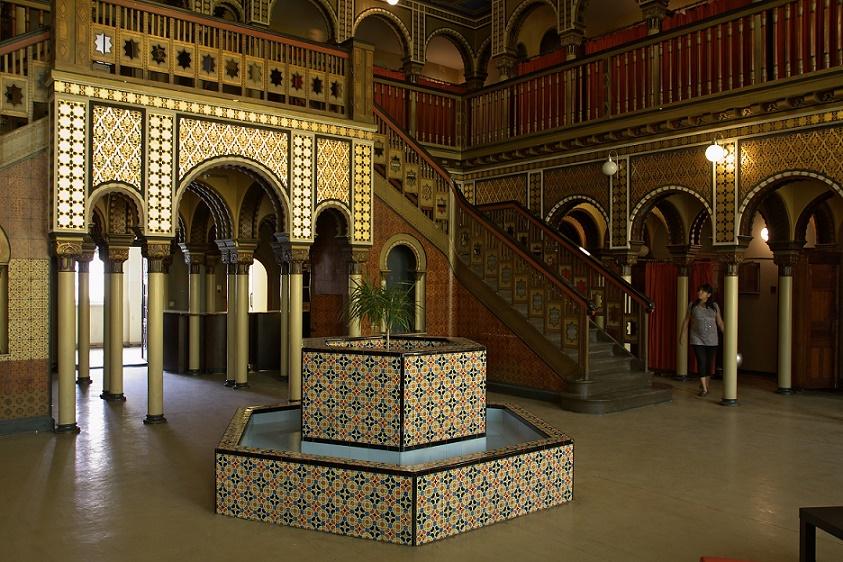 Leipzig, Stadtbad, Orientalische Sauna (Bild: Appaloosa, CC BY SA 3.0)