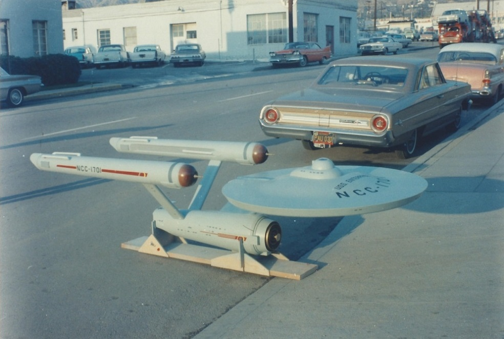 Starship Enterprise, 1964 in Burbank (Bild: Volmer, Jensen, provides by Steven Keys)