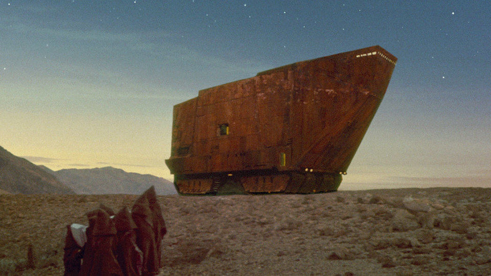 Star Wars, Sandcrawler (Bild: youtube-Still)