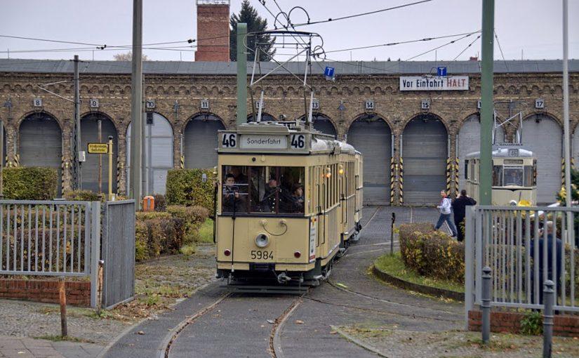 Berlin, Straßenbahnbetriebshof Niederschönhausen (Bild: Rainer Patzig, via mapio.com)