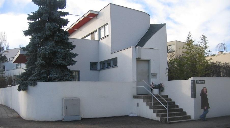 Stuttgart, Weißenhofsiedlung, Haus Scharoun (Bild: Runner1928, CC BY SA 3.0)