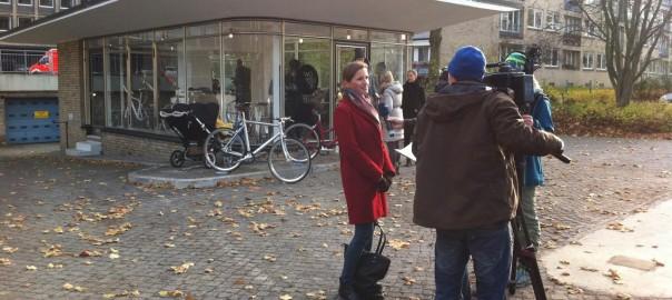 Die 2014 als Fahrradwerkstatt wiedereröffnete Ex-Tankstelle an den Hamburger Grindelhochhäusern kann beim TofD ebenfalls besichtigt werden (Bild: Stadt Hamburg)