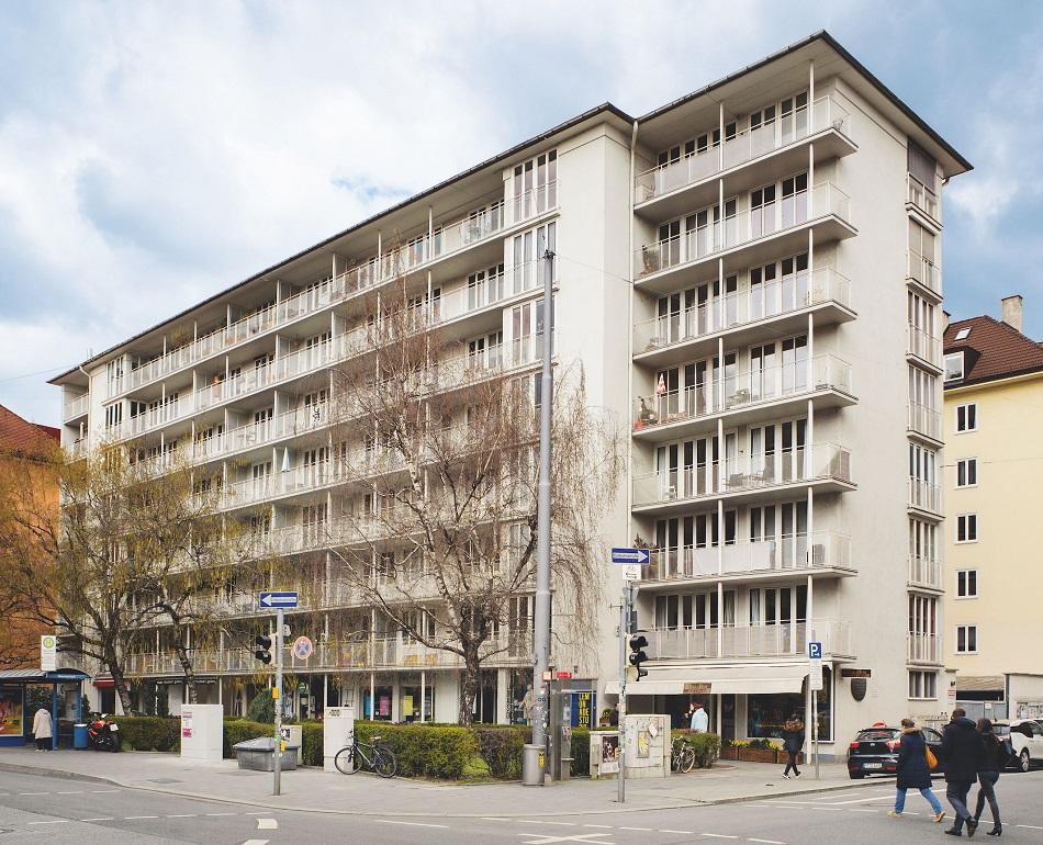 München, Sep-Ruf-Haus (Bild: Josef-Grillmeier, 2019)