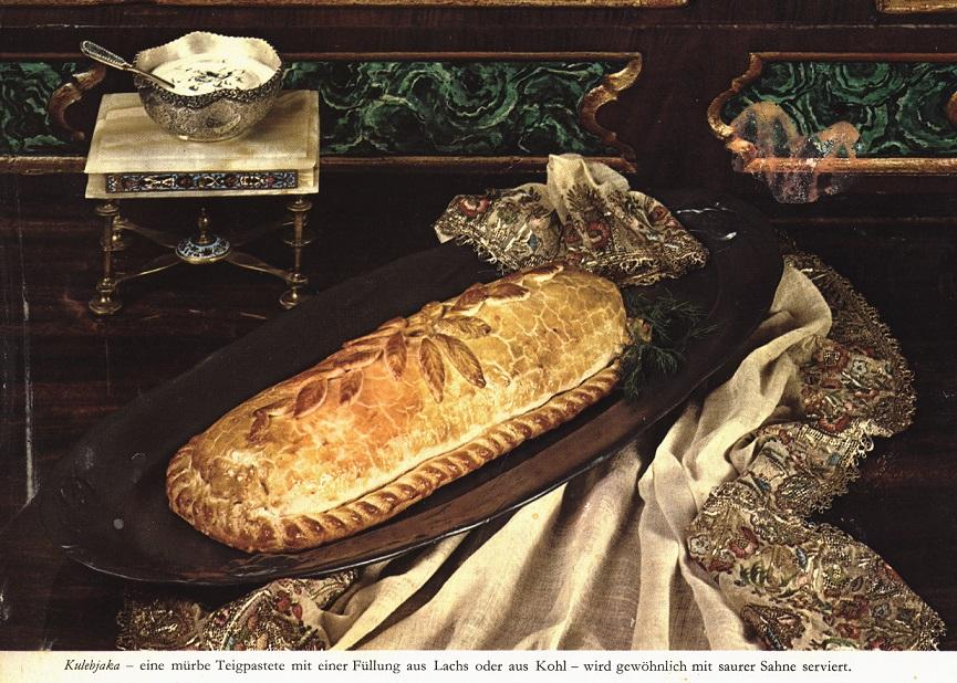 Nicht unaufwändig, aber sehr sehr lecker: als Vorspeise eine russische Pastete (Bild: Time Life)