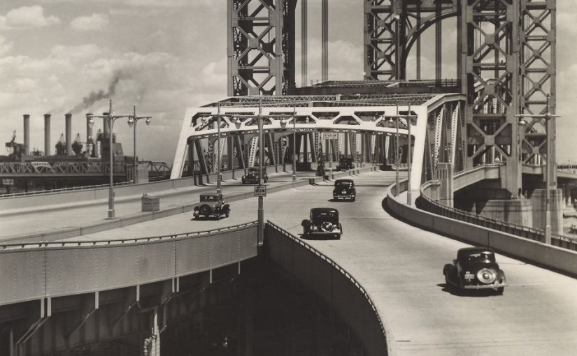 Berenice Abbott: Triborough Bridge, 1937 (Bild: The Miriam and Ira D. Wallach Division of Art, Prints and Photographs, Photography Collection; The New York Public Library, Astor, Lenox and Tilden Foundations © Getty Images/Berenice Abbott, 2020)