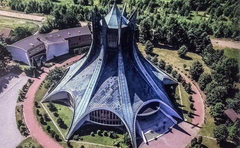 Tschenstochau (Częstochowa), Church of St. Brother Albert Chmielowski', 1981, Aleksander Holas (Foto: Dom Publishers)