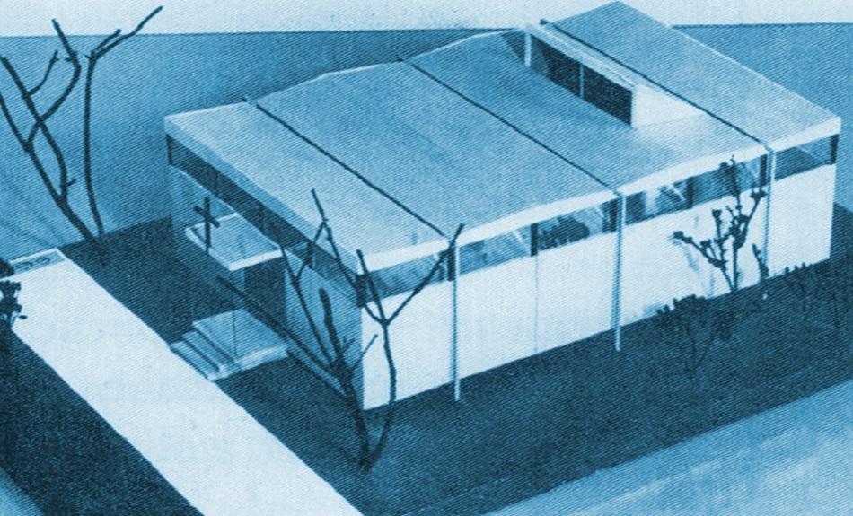 Typenmodell Typ A (Bild: kunst und kirche 1960, eingefärbt)