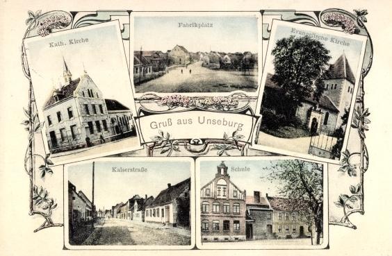 Unseburg (Bild: historische Postkarte)