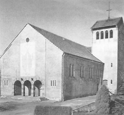 Vellmar, Hl. Geist, um 1955 (Bild: Günther Pöpperl, via hna-Regiowiki)