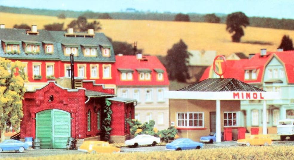 Vero-Tankstelle, um 1980 (Bild: Vero-Verpackung)