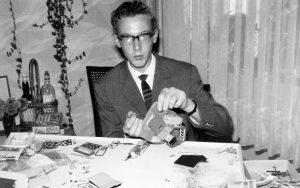 """Die brandneue """"Villa im Tessin"""" im Bau (Foto: um 1962, privat)"""