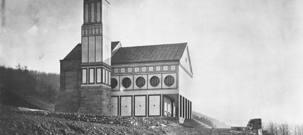 Hagen, Eduard-Müller-Krematorium (Bild: Copyright Bildarchiv Foto Marburg)
