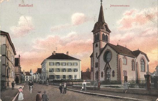 Bild: historische Postkarte, private Sammlung, gemeinfrei, um 1900