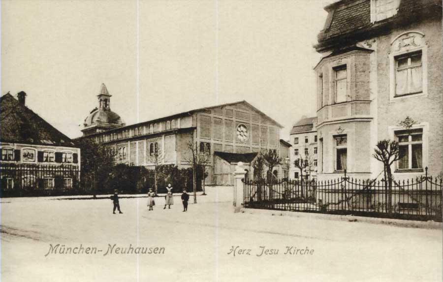Bild: gemeinfrei, um 1914, Bildquelle: 850 Jahre Neuhausen, 2016, Hrsg. Geschichtswerkstatt Neuhausen