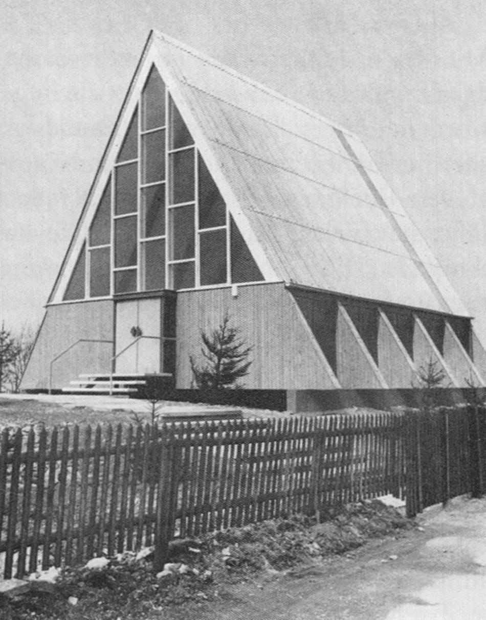 Bild: Neue Kirchen im Rheinland, 1963