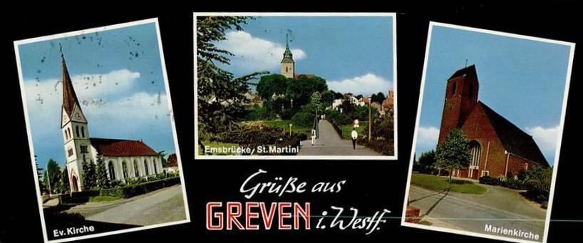 Bild: historische Postkarte, Verlag N. Muddemann, Münster/Westfalen