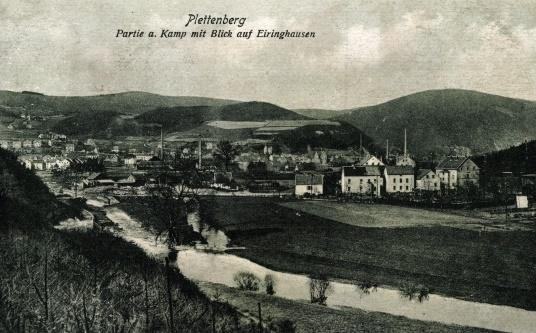 Bild: historische Postkarte, J. Scharenberg-Verlag, Plettenberg