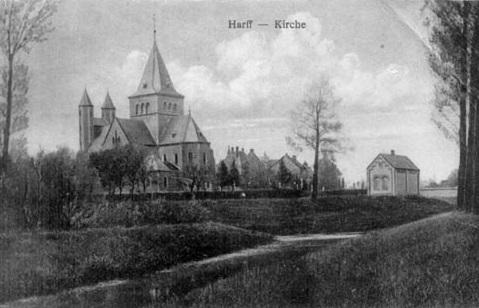Bild: historische Postkarte, via bruderschaft-morken-harff.de
