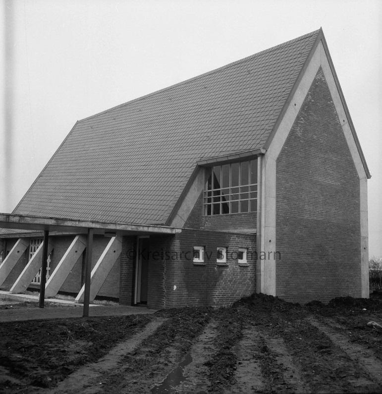 Foto: Rainer Marfels, Bild: Kreisarchiv Stormarn, I1 40742, CC BY NC SA 4.0, 1969