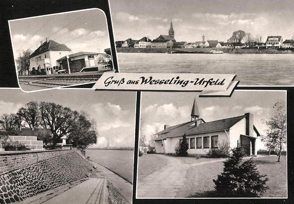 Bild: historische Postkarte, Verlag B. Korr, Aachen