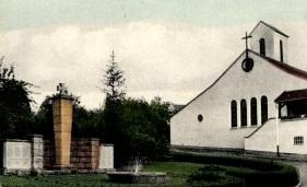 Bild: historische Postkarte, Detail