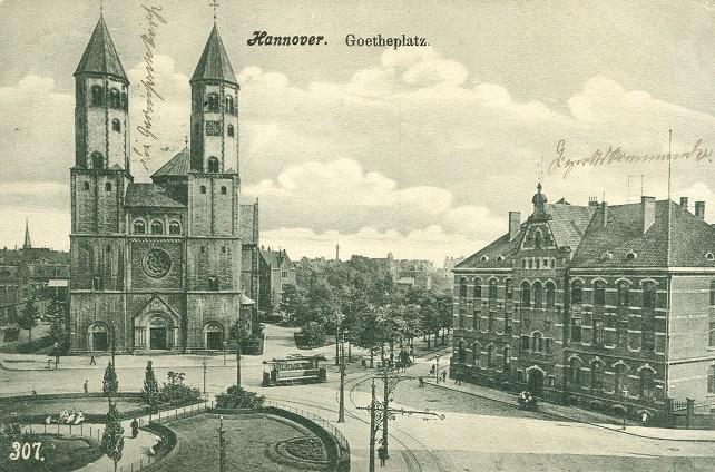Bild: historische Postkarte, Scan: differents, CC BY SA 3.0, um 1900