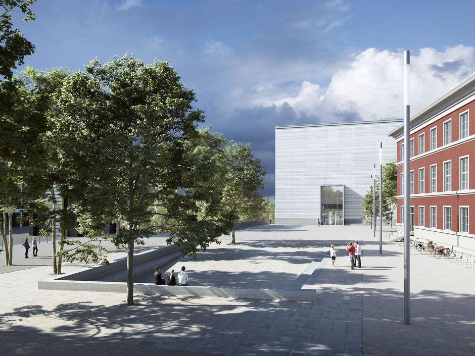 Weimar, Bauhaus-Museum, Visualisierung (Bild: Copyright Heike Hanada)