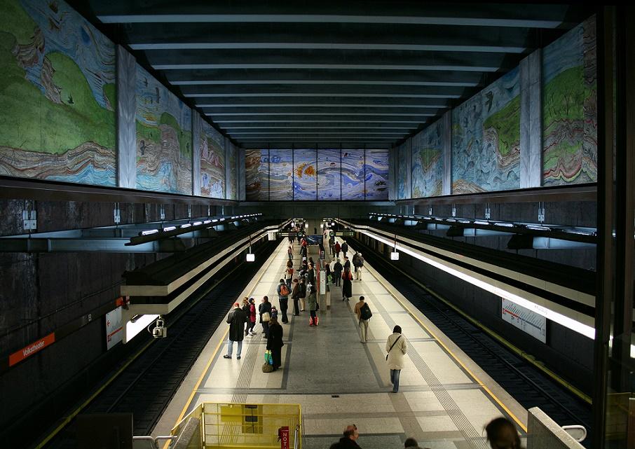 Wien, Station Volkstheater (Bild: Manfred Werner/Tsui, GFDL oder CC BY SA 3.0)