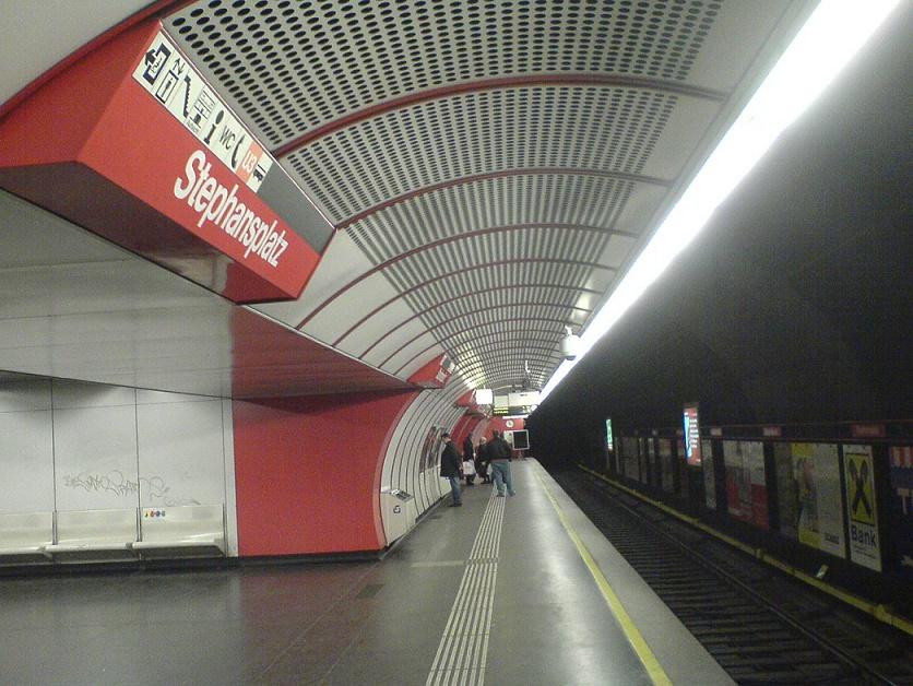 Wien, Stephansplatz, U1 (Bild: Der gelehrte hermes)