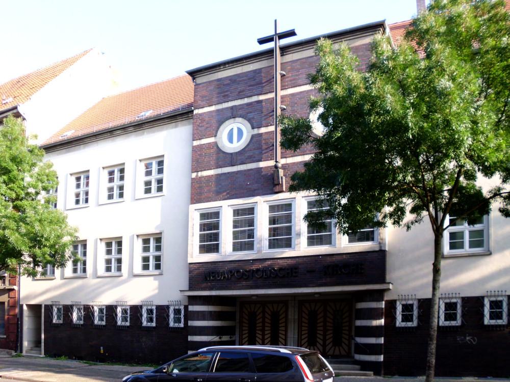 Wittenberge, Neuapostol. Kirche (Bild: yoursmile, CC0 1.0, 2016)