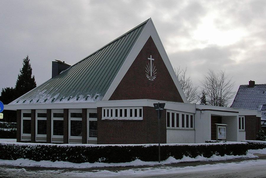 Wittmund, Neuapostol. Kirche (Bild: Eastfrisian, CC BY SA 3.0, 2010)