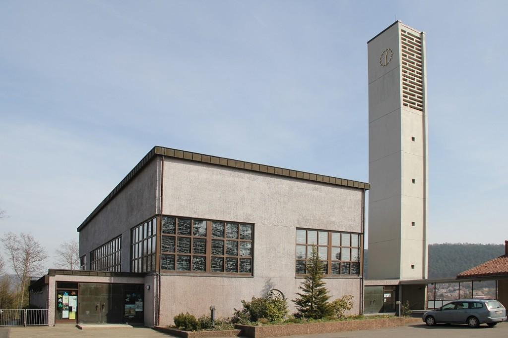 Wolfhagen, St. Maria, 1966, Hans Weber (Bild: Volker Ramsloh, CC BY SA 4.0)