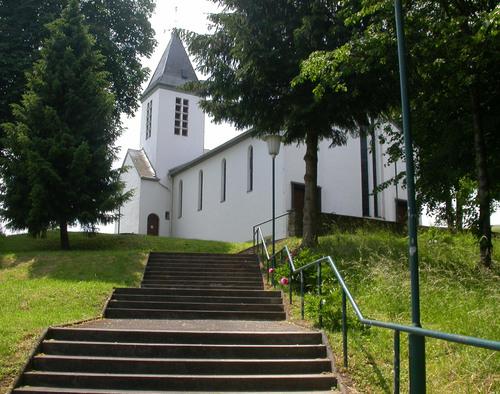Wülfrath-Schlupkothen, St. Barbara (Bild: via mapio.net)