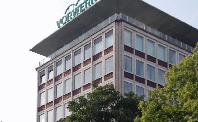 Wuppertal-Barmen, Vorwerk-Gebäude (Bild: Cesare Lazaros Borgia, 2019)