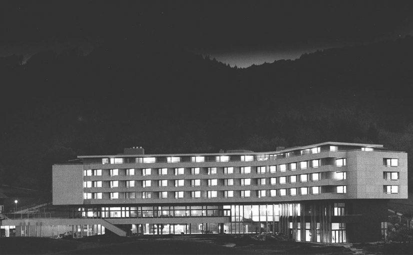 Zürich, Hotel Atlantis um 1971 (Bild: Hubacher Issler Architekten)
