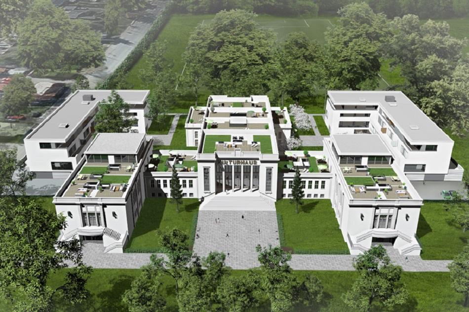 Geht es nach den neuen Eigentümern, sieht das Kulturhaus bald so aus (Bild: Seidel Architekten)