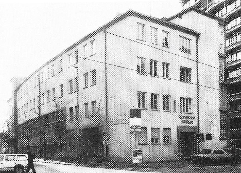 Frankfurt, Zollamt, 1983 (Copyright Archiv des Referats für Denkmalpflege Frankfurt am Main)