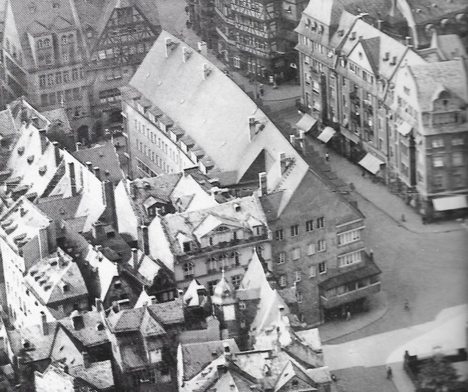 Frankfurt, Zollamt, um 1930 (Bild: Copyright Institut für Stadtgeschichte, Frankfurt am Main)
