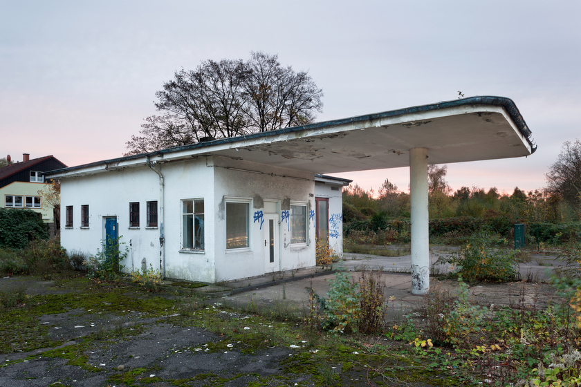 Essen, ehemalige Tankstelle, heute Leerstand (Bild: © Joachim Gies, 2013)