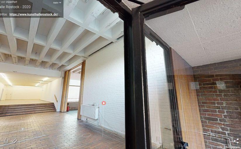 Rostock, Kunsthalle, 3-D-Modell (Bild: Screenshot, 2020)
