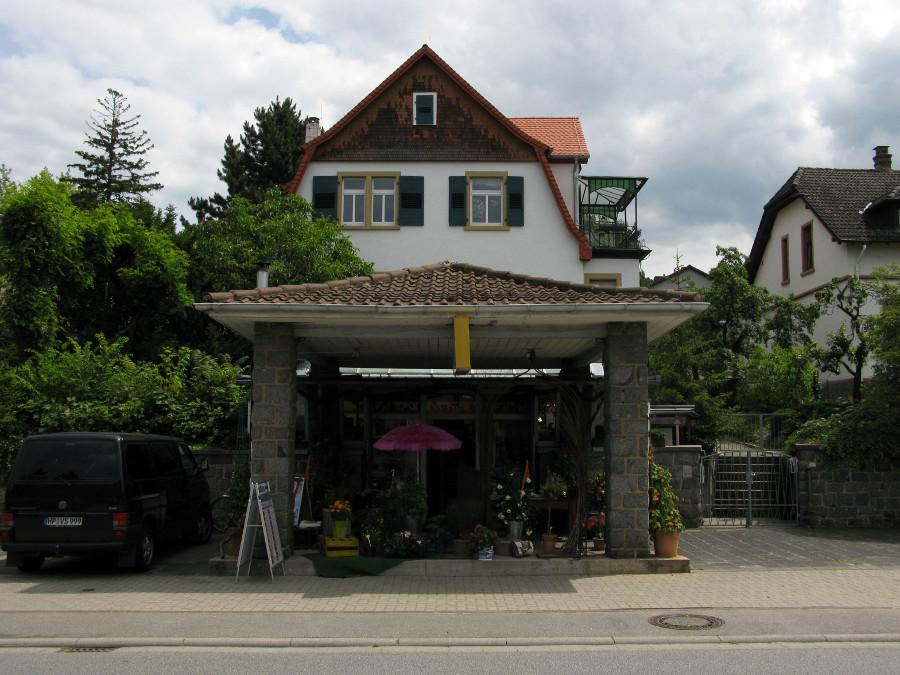 Bensheim-Auerbach, ehemalige Tankstelle (Bild: Peter Liptau)