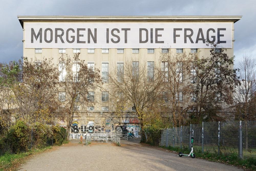 """Berlin, Club """"Berghain"""" während einer Ausstellung 2020 (Bild: Georg Kroemer, via flickr.com)"""