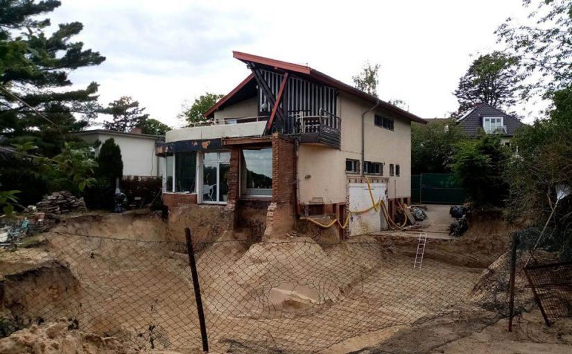 Hans Scharoun: Baustopp für Haus Baensch
