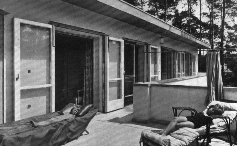Berlin, Villa Poelzig (Bild: Wasmuths Monatshefte 14, 1930, 10)