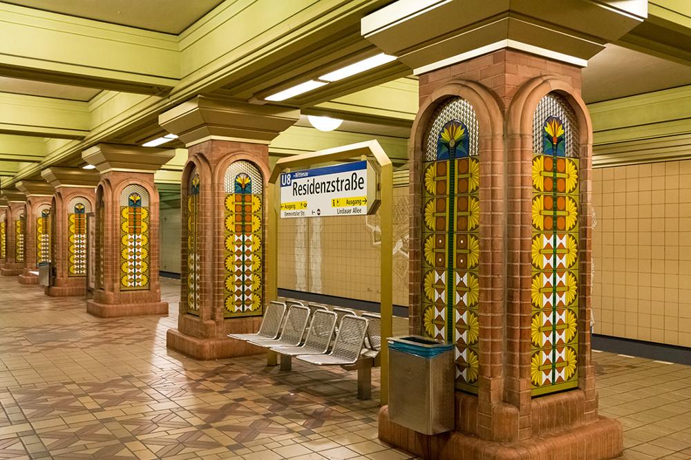 "Berlin, U-Bahnstation ""Residenzstraße"" (Bild: Sven Heinrichs)"