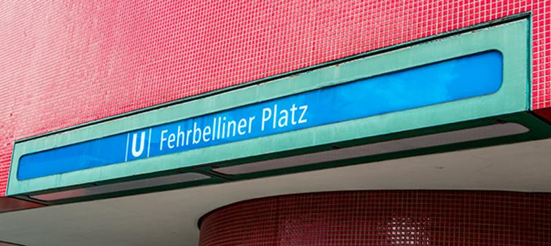 """Berin, U-Bahnstation """"Fehrbelliner Platz"""" (Bild: Sven Heinrichs)"""