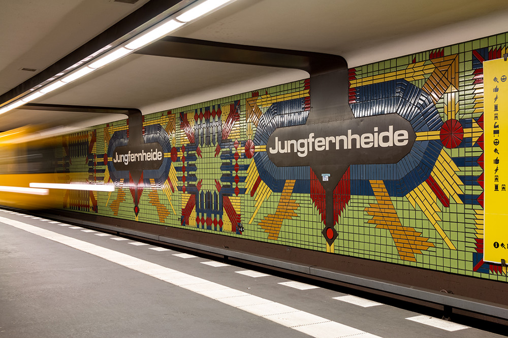 "Berlin, U-Bahnstation ""Jungfernheide"" (Bild: Sven Heinrichs)"