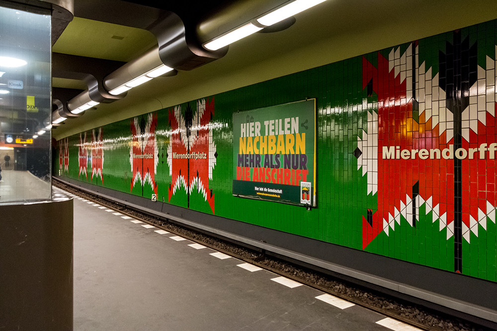 """Berlin, U-Bahnstation """"Mierendorffplatz"""" (Bild: Sven Heinrichs)"""